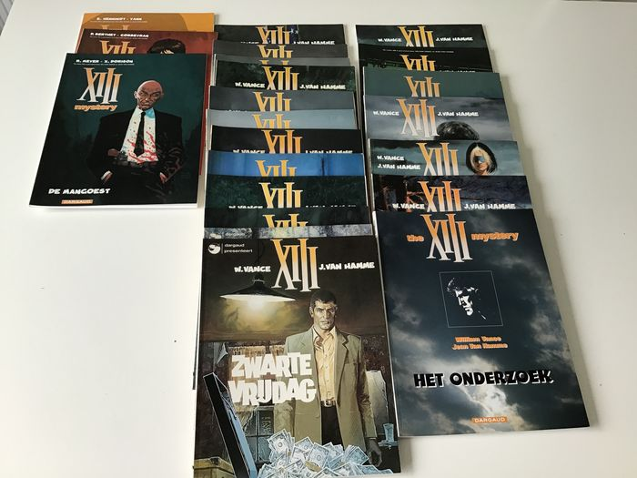 XIII 1 t/m 19 (-1) - XIII-Mystery : 1 t/m 3 - Softcover - Eerste druk - (1984/2010)
