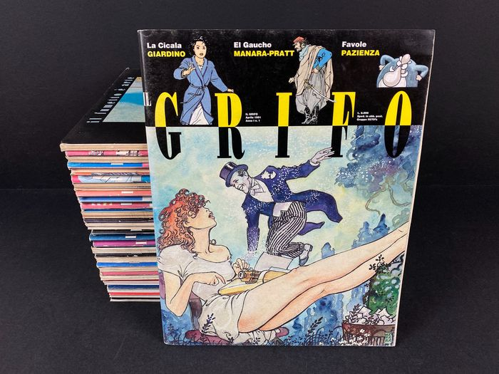 Il Grifo nn. 1/31 - Sequenza completa - Softcover - First edition - (1991/1993)