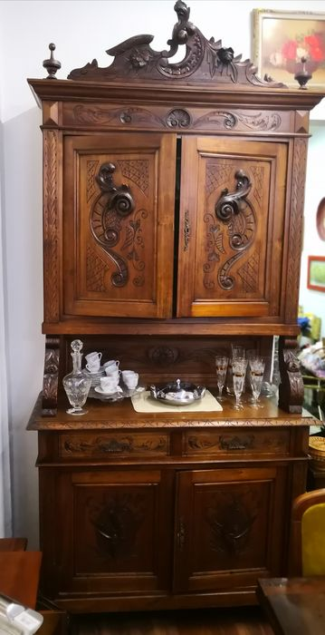 Credenza - Walnut - Late 19th century