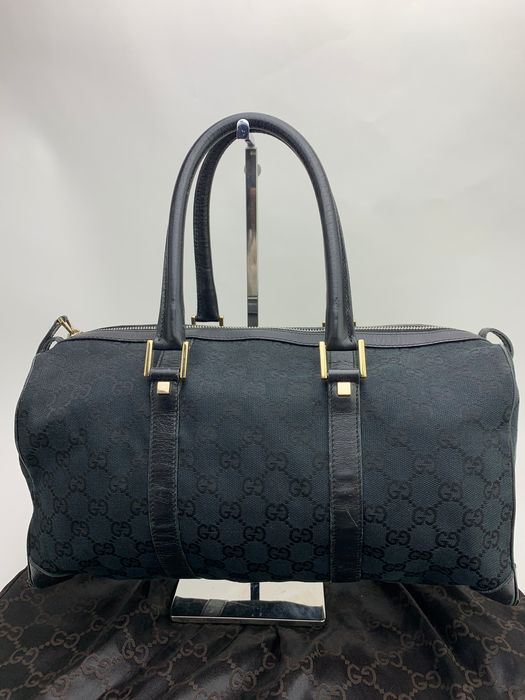 Gucci - NO RP Classic GG Black Canvas Tote bag