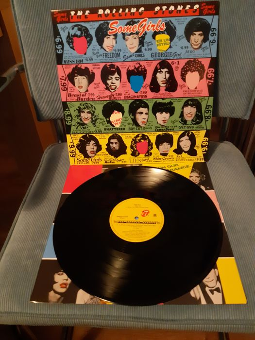 Rolling Stones - Collection of 5 LP's Rolling Stones - Multiple titles - LP's - 1969/1969