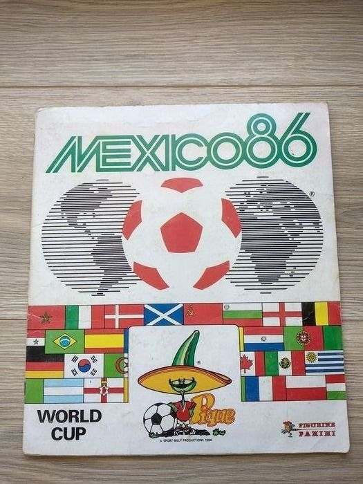 Panini - World Cup Mexico 86 - Complete album
