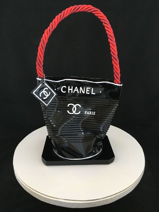 Norman Gekko - Crushed Chanel Red and Black