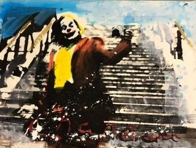 Ronald Chapeau - Joker on his stairs