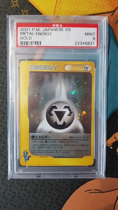 Pokémon - Carte à collectionner Metal Energy Holo PSA 9 Japanese VS