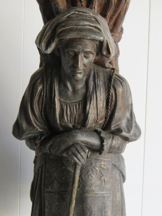 Sculpture, large 53 cm - Zamac - 1900
