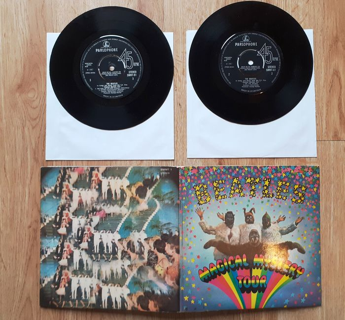 Beatles - Magical Mystery Tour Authentic First UK Pressing 1967 Excellent/Near Mint Condition - 2 x Vinyl EP - 1967/1967