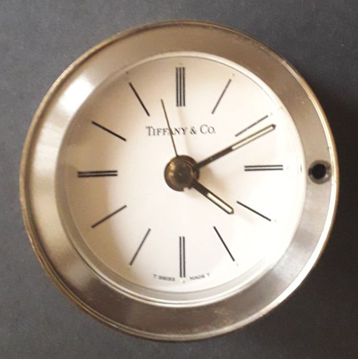 Travel clock - Tiffany & Co - Steel (stainless) - 20th century