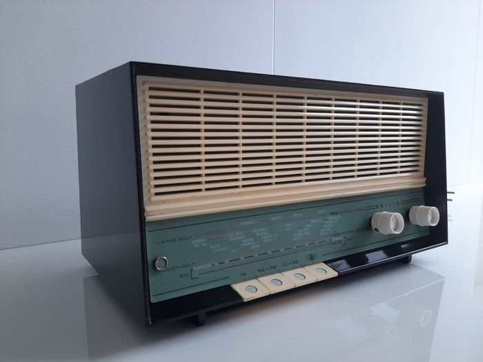 Philips - B2X92A - Tube radio