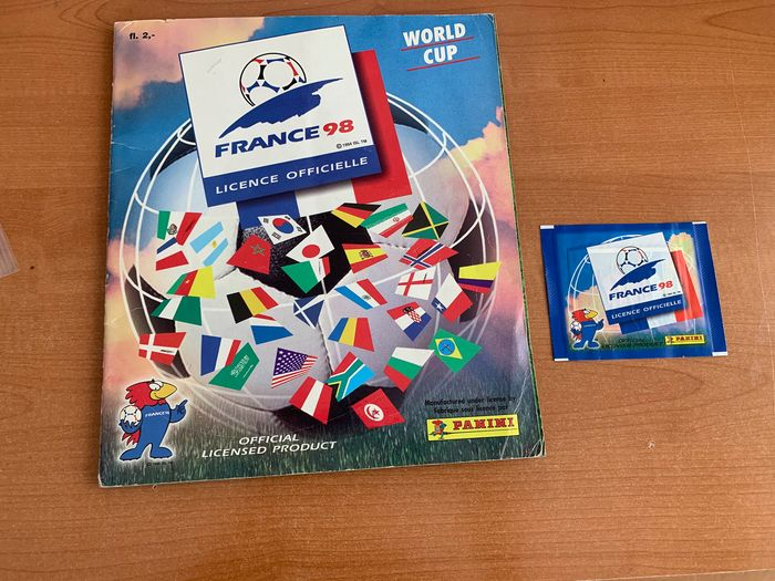 Panini - World Cup France 98 - Complete album + Sealed pack - 1998