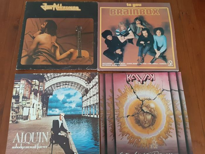 Alquin, Brainbox & Related, Focus, Kayak, Various Artists/Bands in Prog & Symfo Rock - Multiple artists - Multiple titles - 2xLP Album (double album), LP Album, LP's - 1975/1980