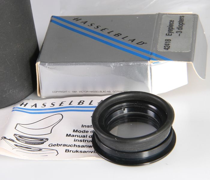 Hasselblad Eyepiece correctionlens -3 dioptrie for PME5 en 51