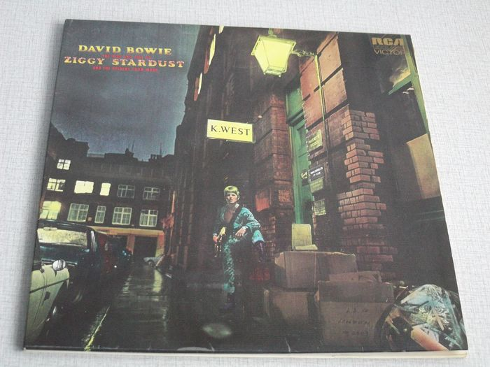 David Bowie - The Rise And Fall Of Ziggy Stardust And The Spiders From Mars - LP Album - 1972/1972