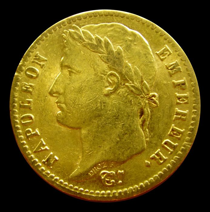 France - Napoleon I - 20 Francs 1812-A (Paris) - Gold