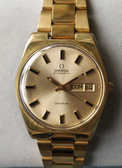 "Omega - Geneve Automatic - Day-Date - ""NO RESERVE PRICE"" - 男士 - 1970-1979"