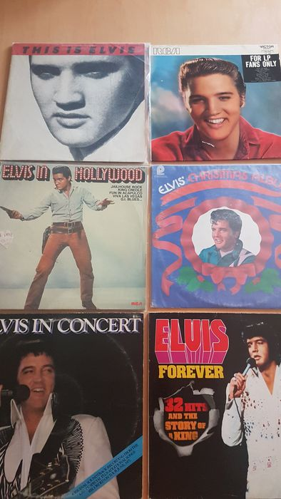 Elvis Presley - 10 LP Albums - Multiple titles - 2xLP Album (double album), LP Album - 1970/1981