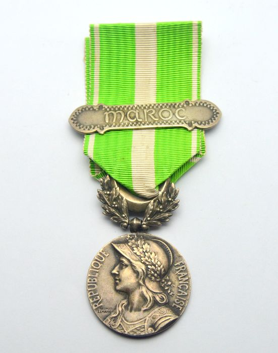 France - Maroc Coloniale - Medal