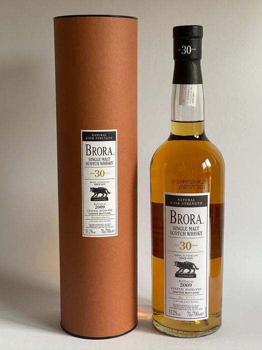 Brora 30 years old Limited Edition 8th Release - Original bottling - b. 2009 - 70cl