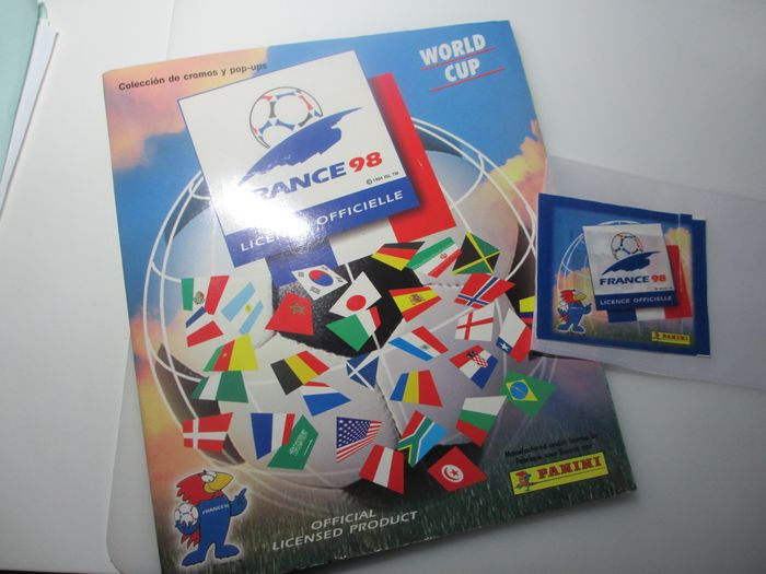 Panini - World Cup France 98 - Complete album + pack - 1998