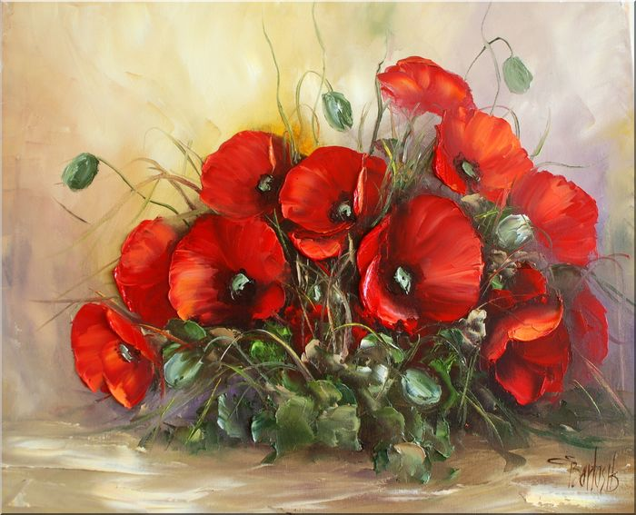 Ewa Bartosik - Poppies