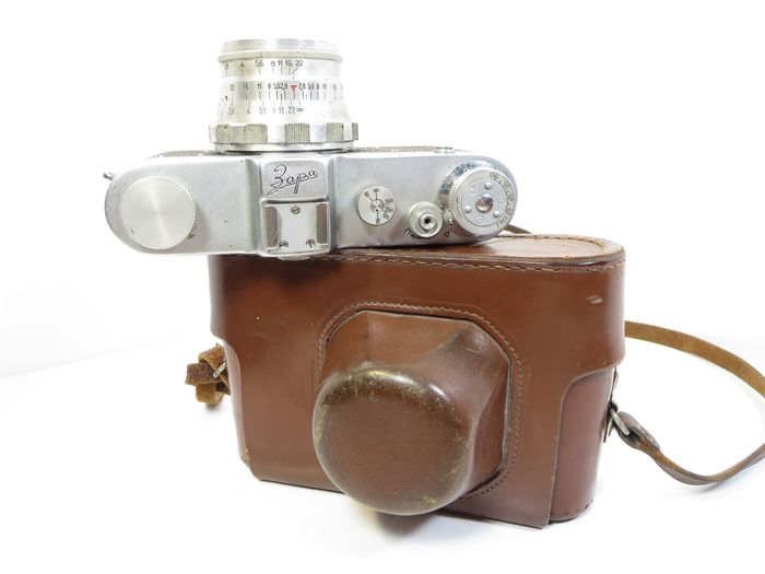 "FED Rarely ""Zaria"" WITH AN INCREASED VIEWFINDER (15mm x 11mm) (only-1959)"