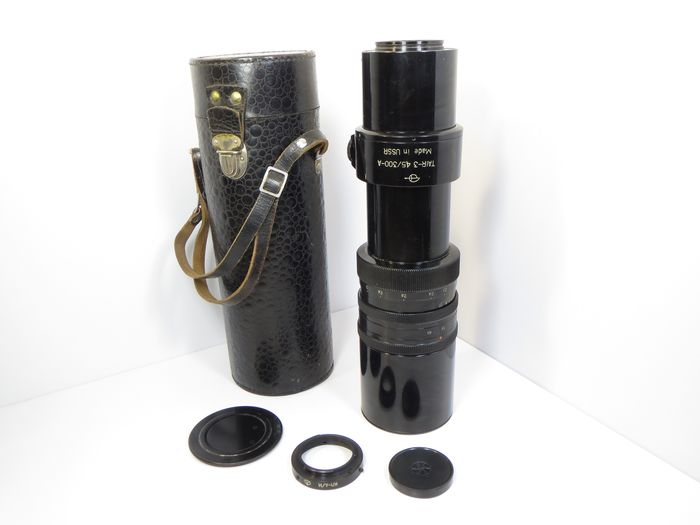 """ZOMZ (Zagorsk) Uniquely rare """"Tair-3"""" 4,5/300A + Nikon-F adapter (Intelligence, Hunting, Aerial Photography,)"""