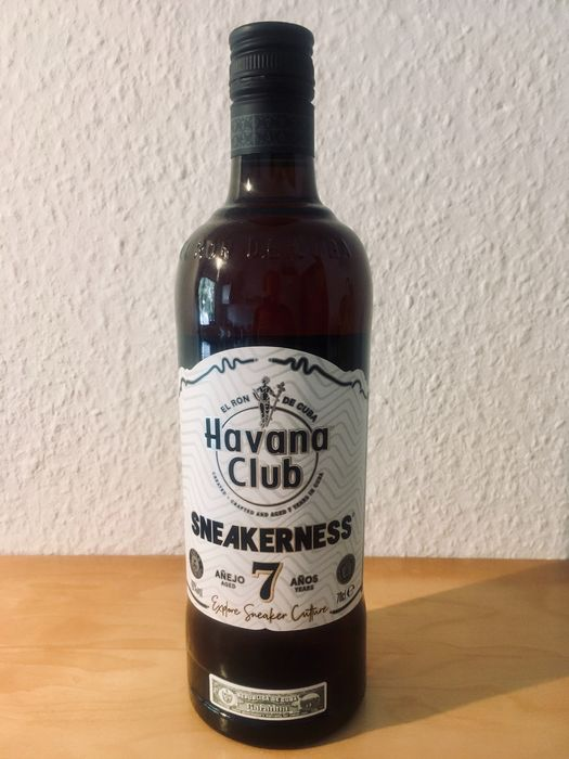 Havana Club - Sneakerness special edition - Añejo 7 Años - b. 2019 - 70cl