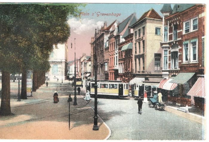 Netherlands - The Hague / The Hague / Scheveningen - old and very old cityscapes - Postcards (Collection of 126) - 1900-1950