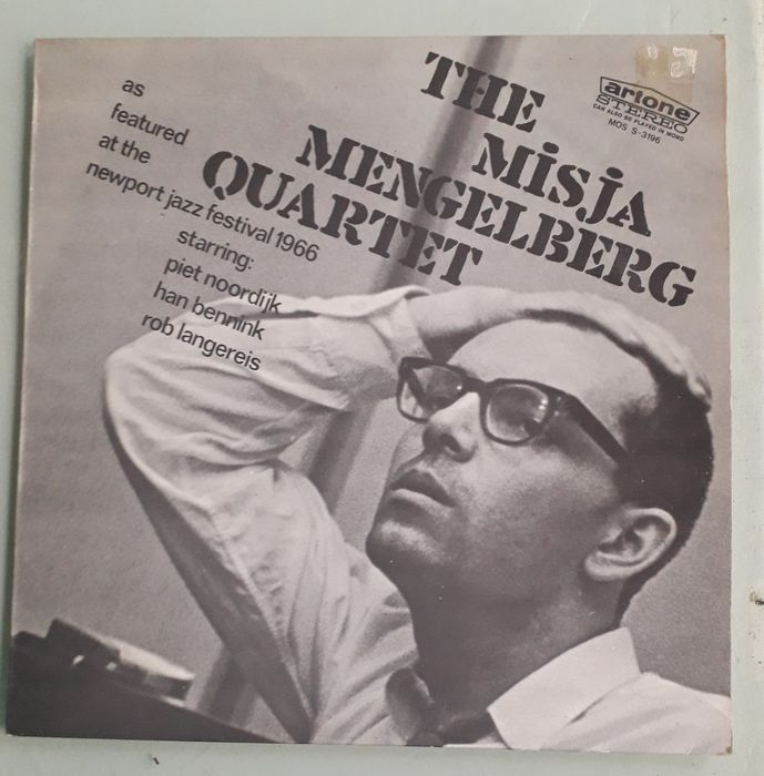 The Misja Mengelberg Quartet - LP Album - 1966/1967