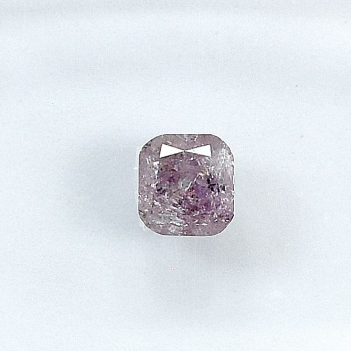 Diamante - 0.29 ct - Cuscino - Natural Fancy Pink - I3 - NO RESERVE PRICE