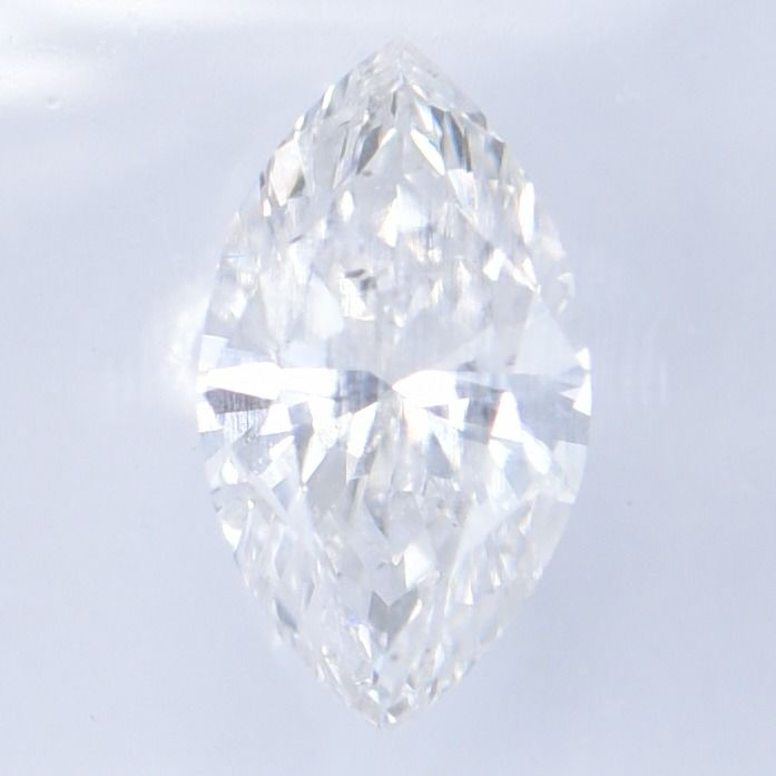 1 pcs Diamond - 0.77 ct - Marquise    Brilliant - D (colourless) - SI1     GWLAB certified    ** No Reserve Price **