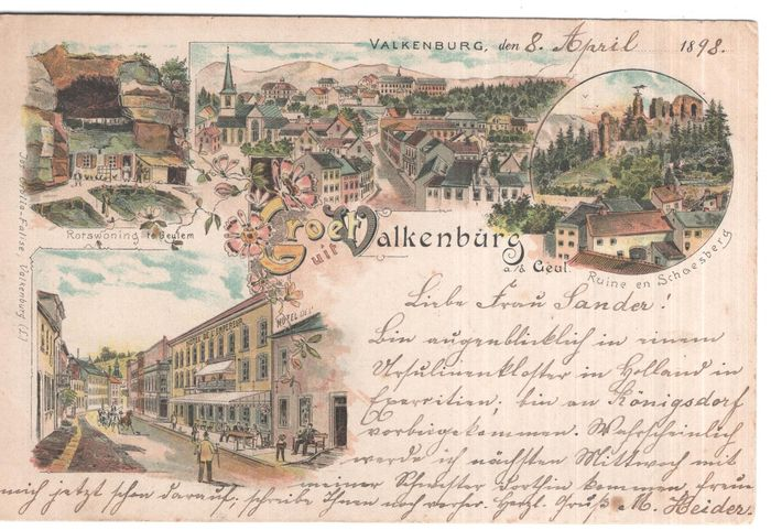 Netherlands - Limburg - City and Village pics - Postcards (Collection of 116) - 1900-1950