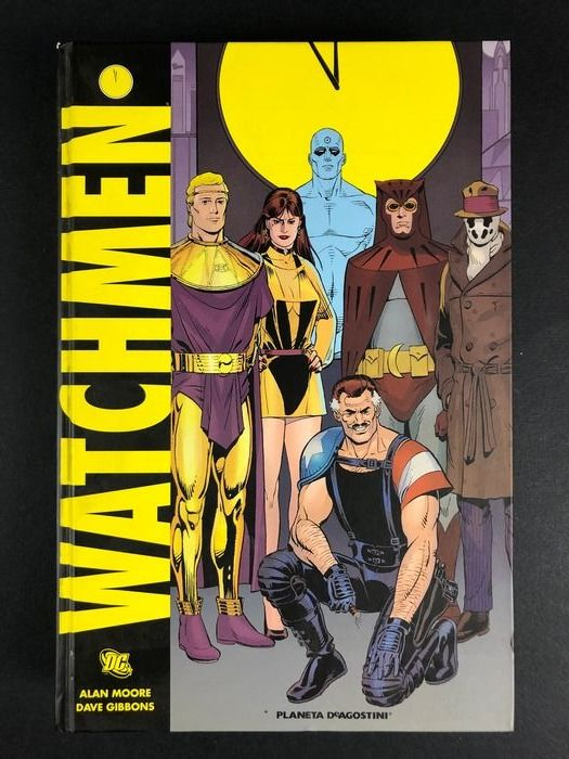 A. Moore, D. Gibbons - Watchmen - Hardcover - 2nd edition 2008 - (2008)