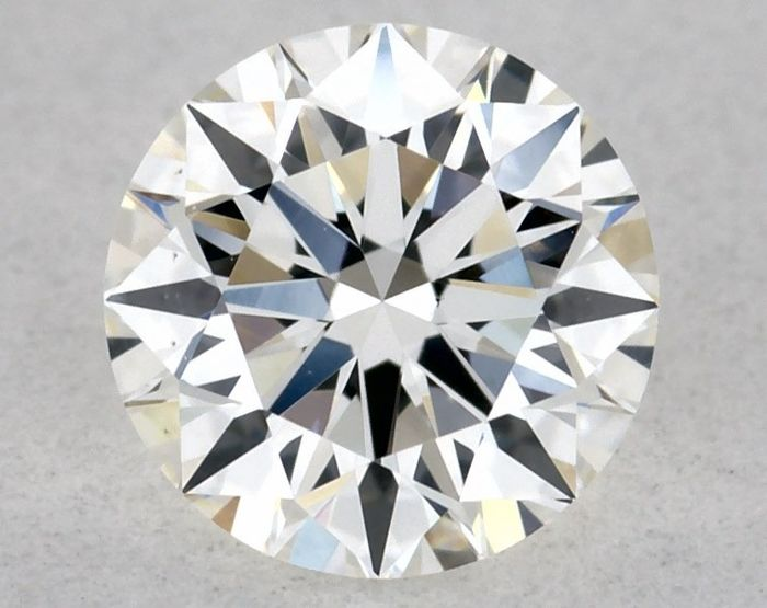 Diamant - 0.34 ct - Brillant - E - VS1, EX/EX/EX | IGI