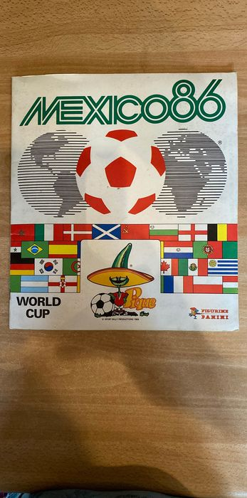 Panini - World Cup Mexico 86 - Album completo - 1986