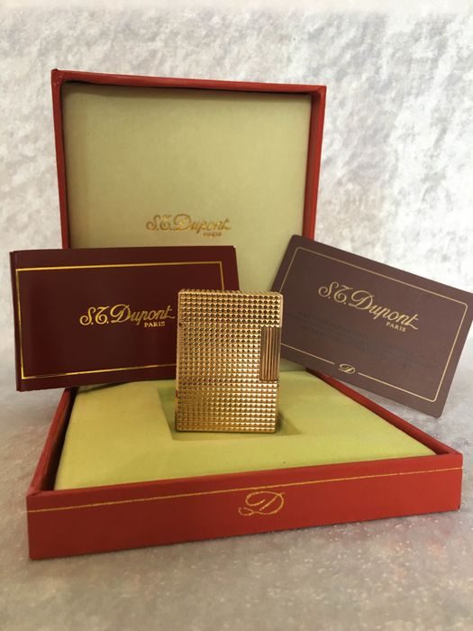 S.T. Dupont - 20micron Gold Lighter