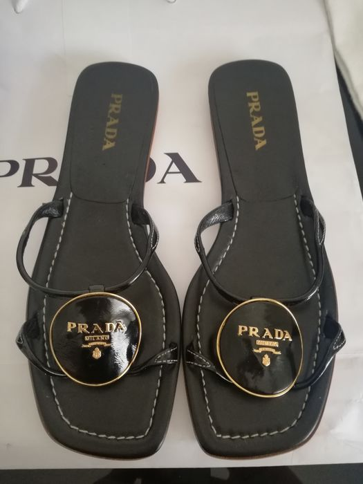 Prada - Slider Sandals - Size: IT 39