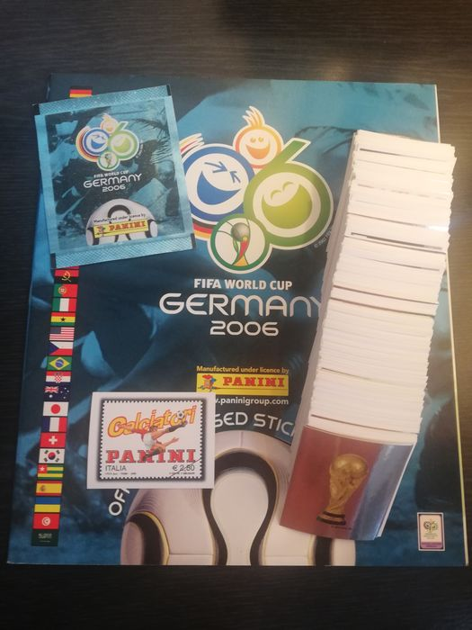 Panini - WC 2006 - Complete loose set + Empty album + pack + update sticker