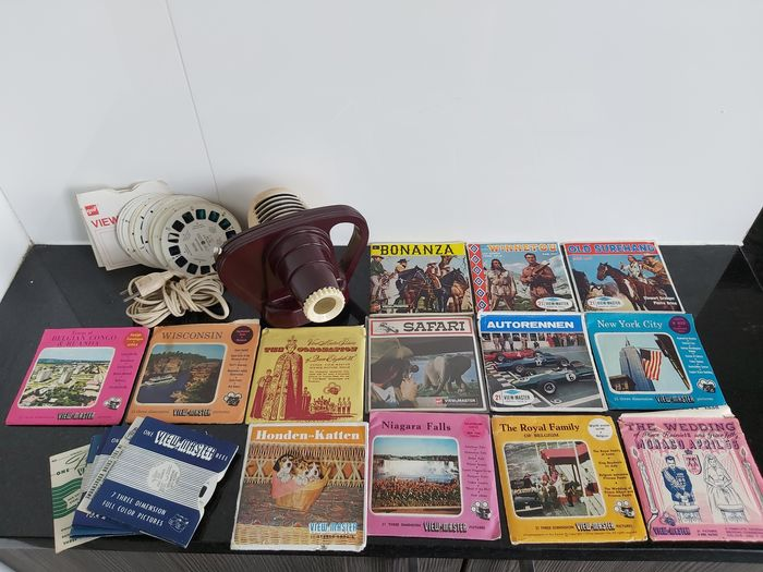 Sawyer's (View-Master)  Junior Projector + 72 schijfjes