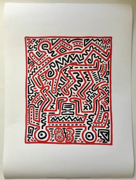 Keith Haring (after)  - Untitled (1983) - 1980-tallet