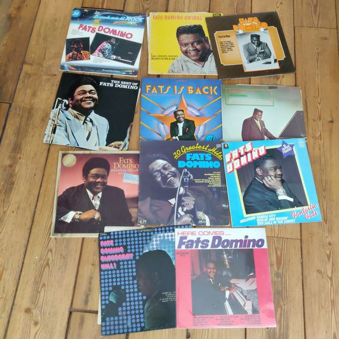 Fats Domino - Multiple titles - LP's - 1964/1981
