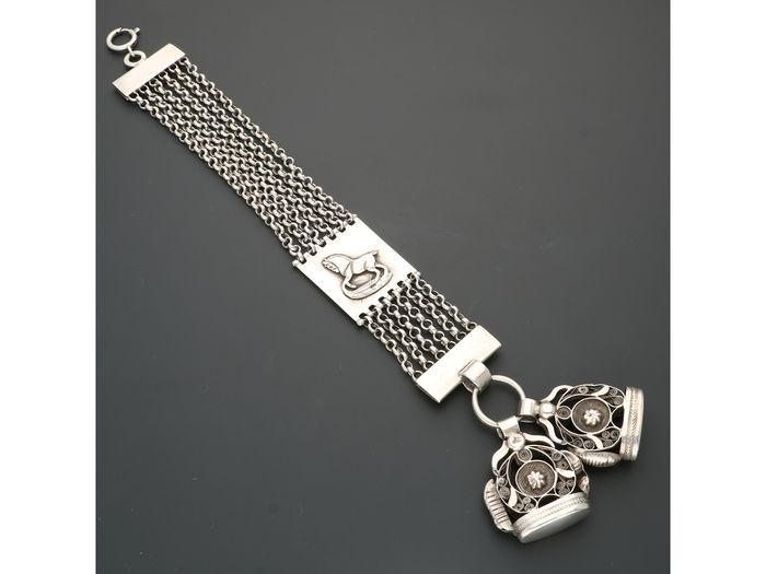 835 Silver - Chatelaine