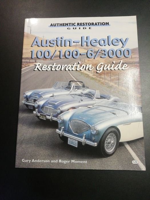 Książki - Austin Healey 100/100-6/3000 Restoration Guide - Austin Healey - 1990-2000