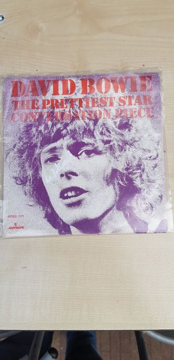 David Bowie - The Prettiest Star / Conversation Piece - 45 rpm Single - 1970/1970
