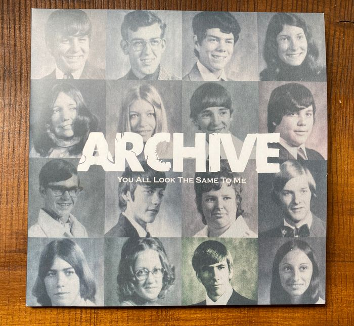 Archive - You all look the same to me - 2xLP Album (double album) - 2002/2002
