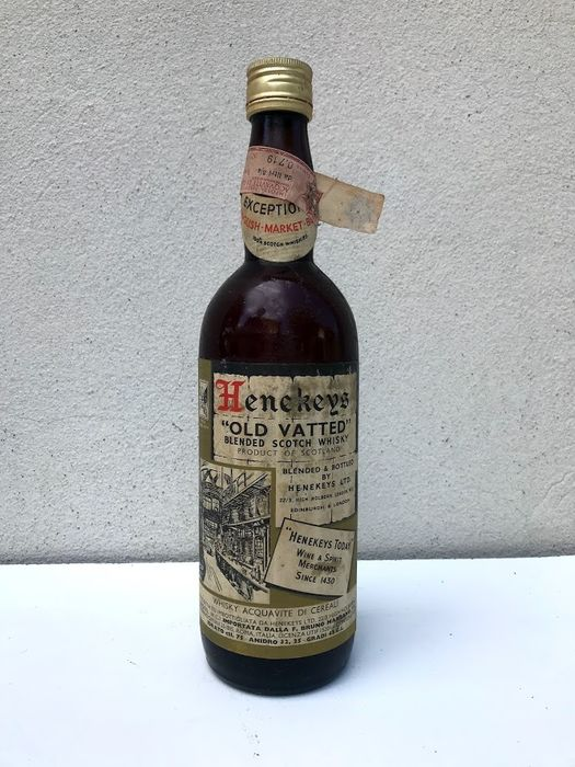 Henekeys ''Old Vatted'' - b. Années 1960 - 75cl