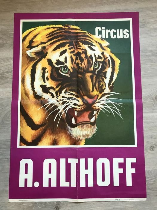 Onbekend - Circus A. Althoff - 1965 - 1960-tallet
