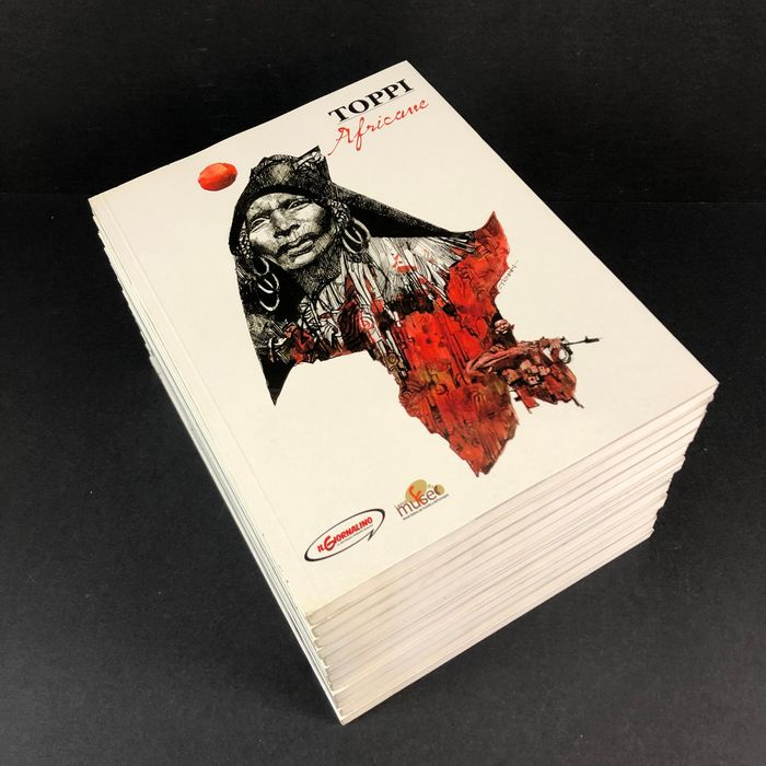 Sergio Toppi - 14x volumi - Softcover - First edition - (2010)