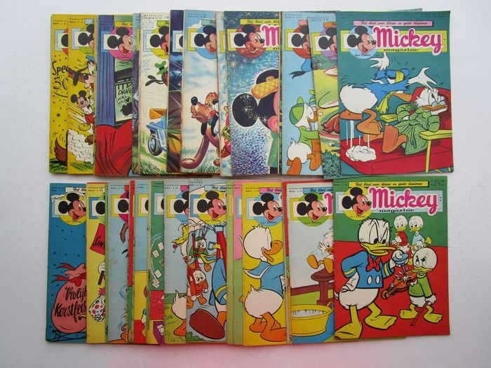Mickey Magazine  - 5 januari t/m 27 december - nummer 274  t/m 325 - Softcover - First edition - (1956)