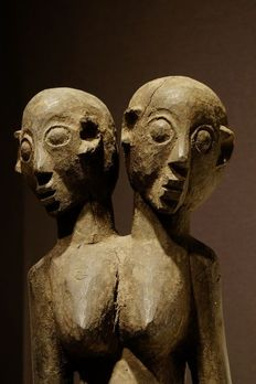 Double Head Lobi - Wood - Dayir - Lobi - Burkina Faso